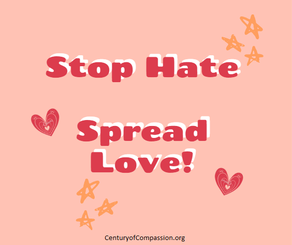 Stop Hate Spread Love